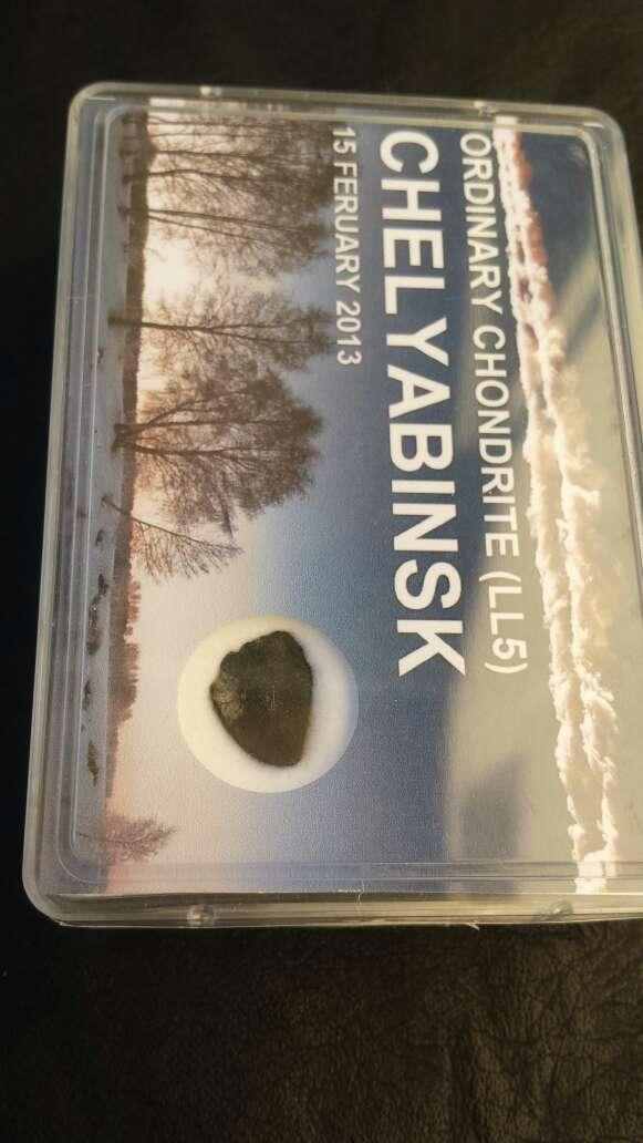 Imagen producto Meteorito en caja chelyabinsk  3