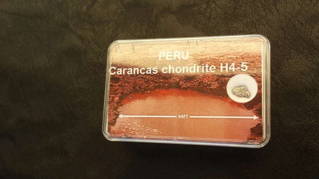 Imagen meteorito carancas de peru
