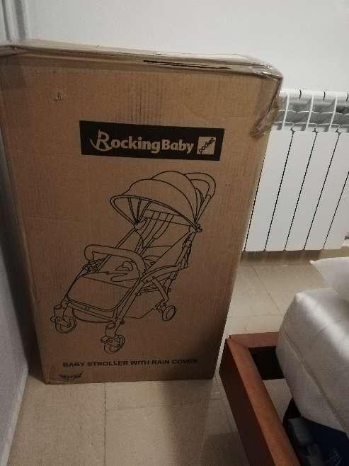 Imagen producto Silla de paseo rocking baby pocket nueva  3
