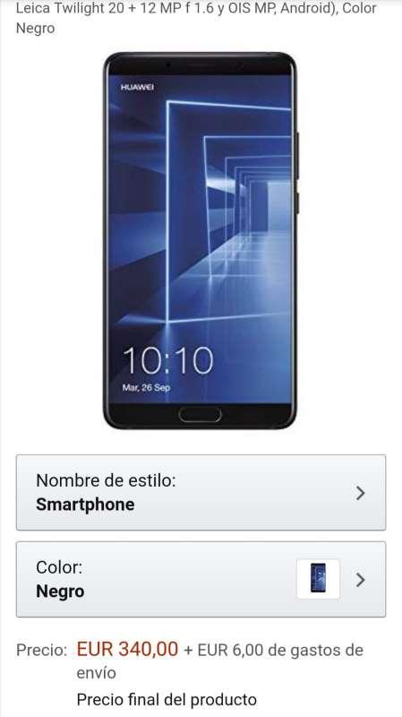 Imagen producto Vendo Huawei mate 10 1