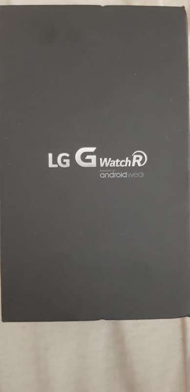 Imagen Smartwatch LG G watch R