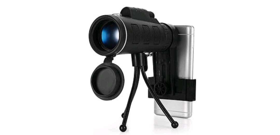 Imagen Telescopio monocular HD con trípode