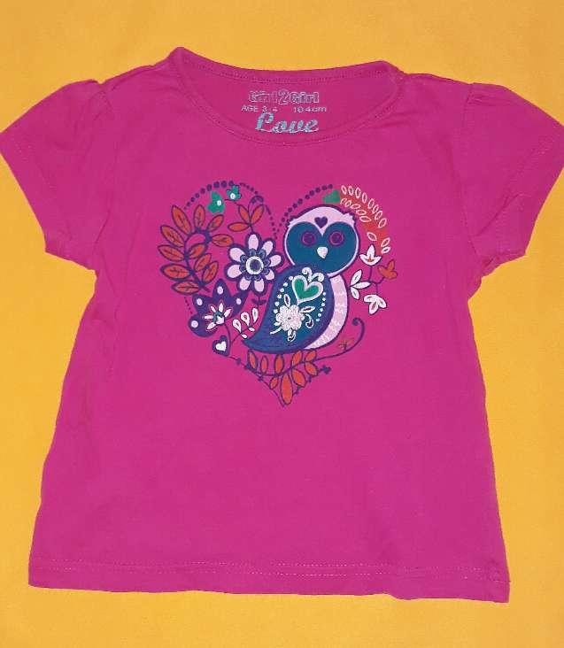 Imagen producto Camiseta niña, 4 años.  1