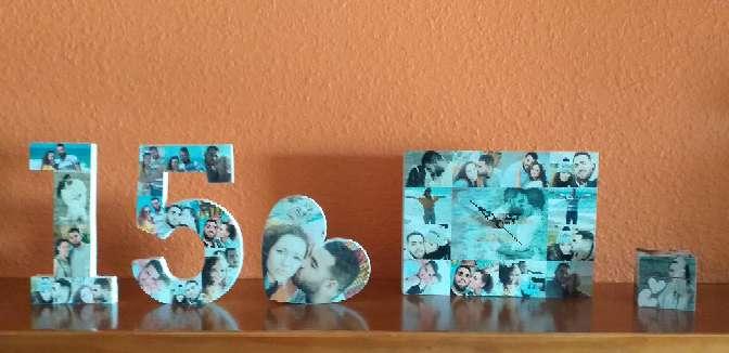 Imagen producto Letras, números, llaveros, corazones, relojes...  8