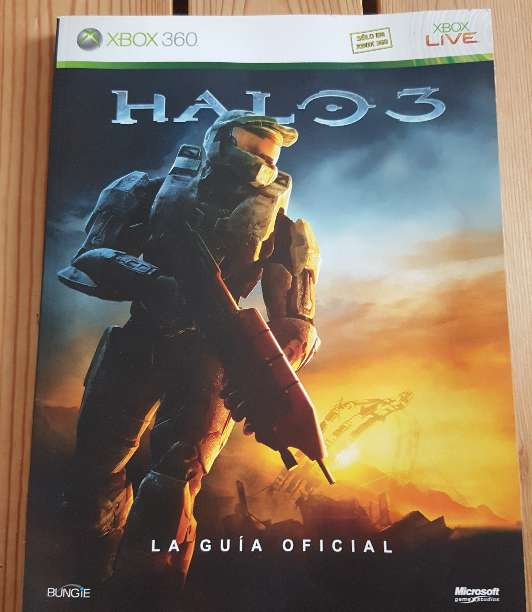 Imagen Guía oficial Halo 3 Xbox360
