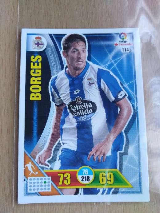 Imagen Borges cromo /cards fútbol