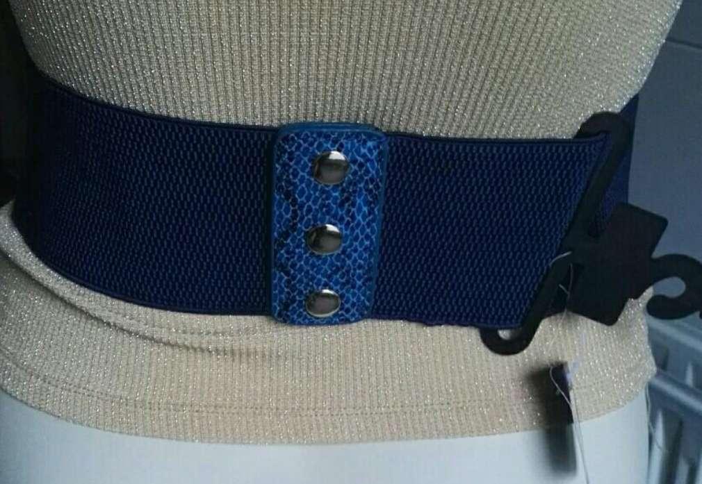 Imagen producto Cinturón ancho leopardo nuevo  2