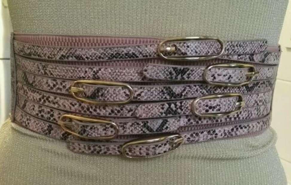 Imagen producto Cinturón ancho leopardo nuevo  3