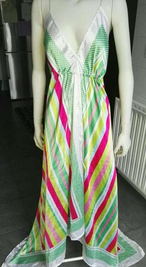 Imagen producto Vestido largo verano talla S 4