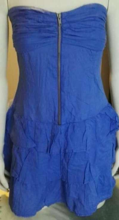 Imagen Vestido azul verano S/M