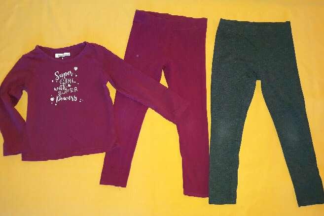 Imagen producto Niña, 4-5 años. Leggins y camiseta.  2