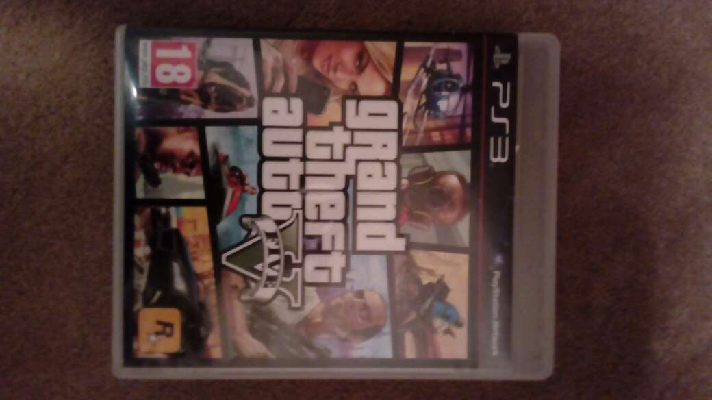 Imagen producto Gta 5 ps3 impecable 2