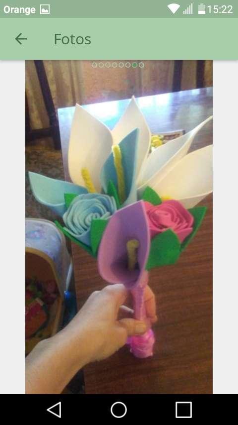 Imagen producto Flores de goma eva 2