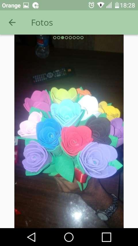 Imagen producto Flores de goma eva 4