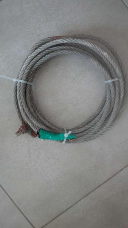 Imagen cable de acero
