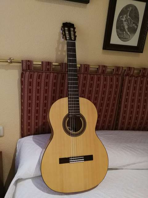 Imagen Guitarra Flamenca Prudencio Sáez