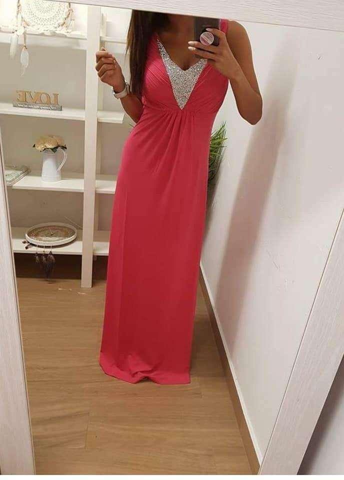 Imagen Vestido color rosa