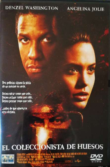 Imagen Película original en DVD El coleccionista de huesos.