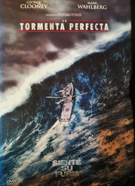 Imagen Película original en DVD La tormenta perfecta