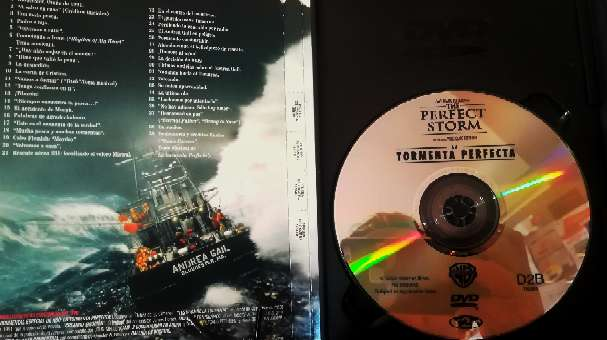 Imagen producto Película original en DVD La tormenta perfecta  2