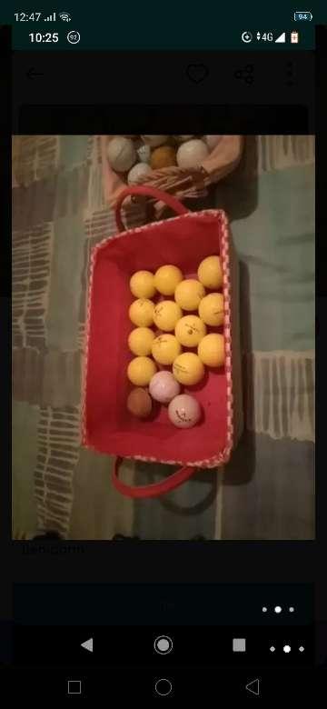 Imagen pelotas de golf