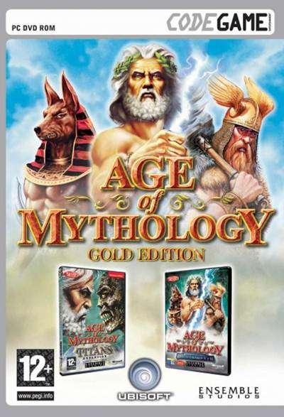 Imagen Juego age of mythology gold edition pc