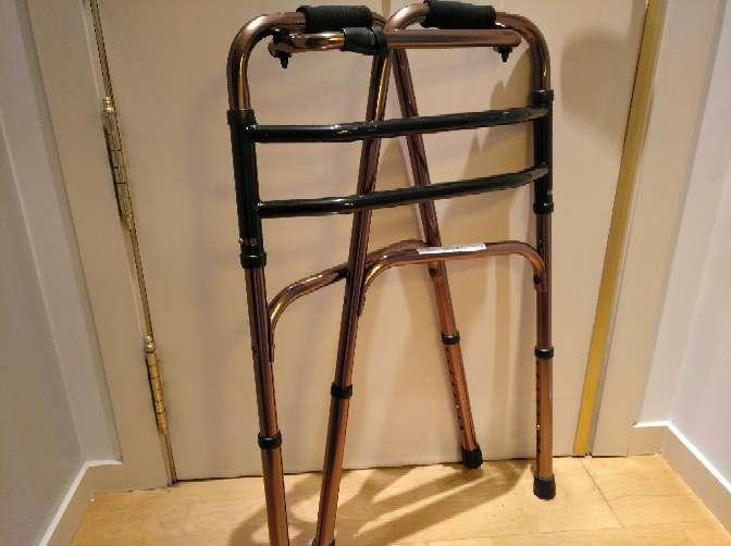 Imagen producto Silla ruedas ancho 40 cm y andador  2