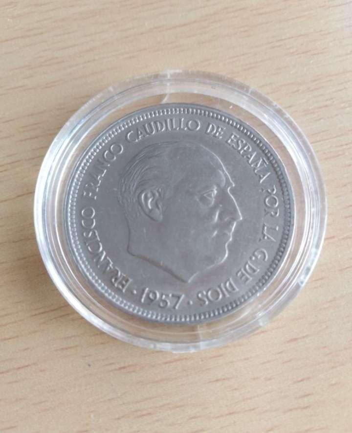 Imagen producto Moneda 1957 de 50 pts * 58 Francisco Franco.  2