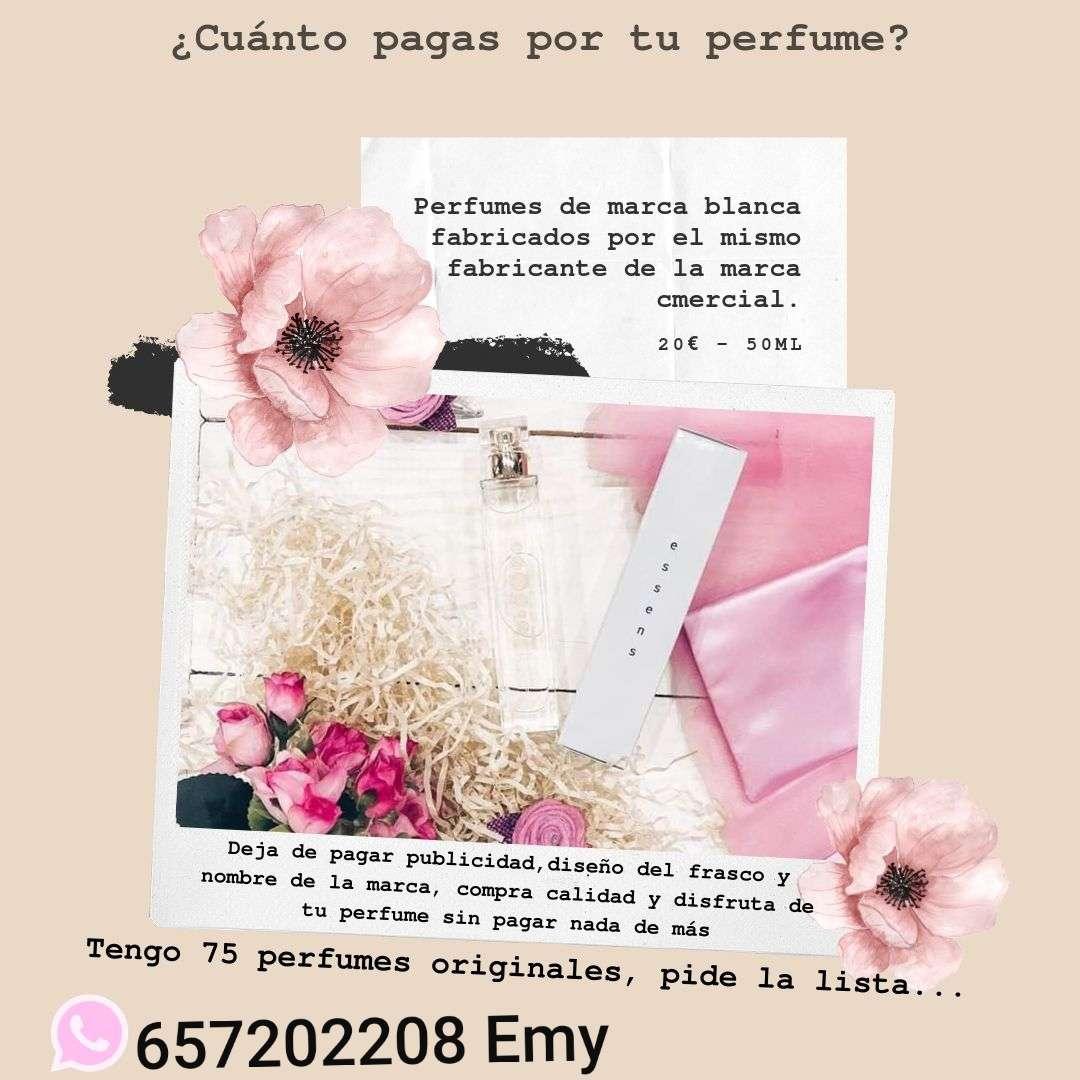 Imagen perfumes 20 % de aceite esencial
