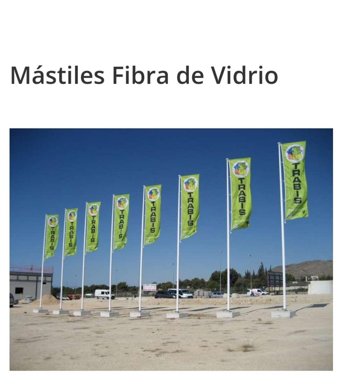 Imagen producto Mastil fibra de vidrio 70 € 2