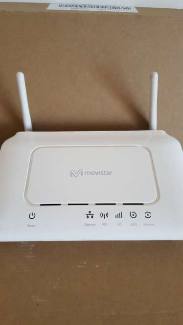 Imagen router movistar