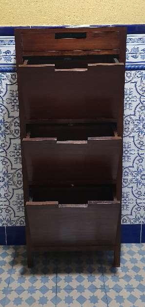 Imagen producto Zapatero madera maciza 100 € 5