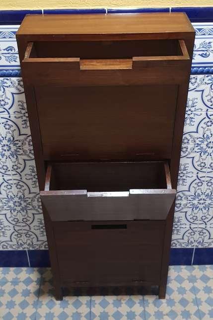 Imagen producto Zapatero madera maciza 100 € 3