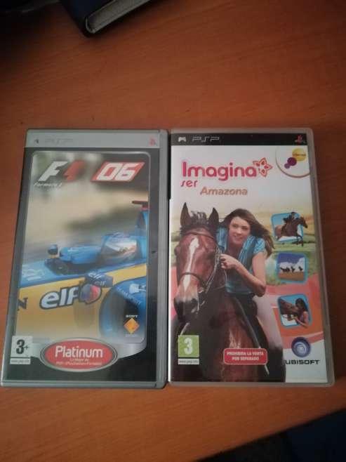 Imagen producto Juegos y cámara psp 2