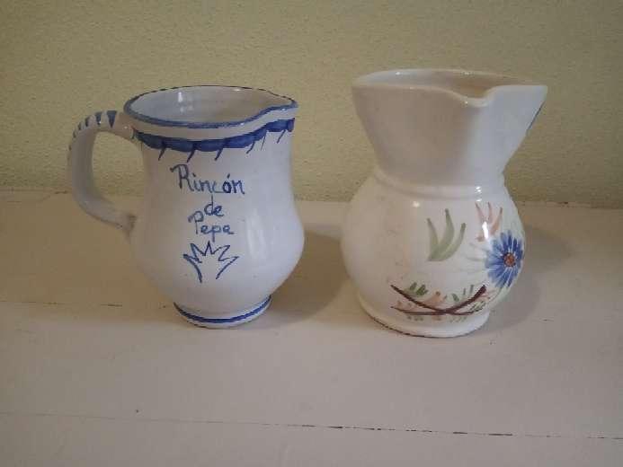 Imagen producto Lote 2 JARRAS cerámica 2