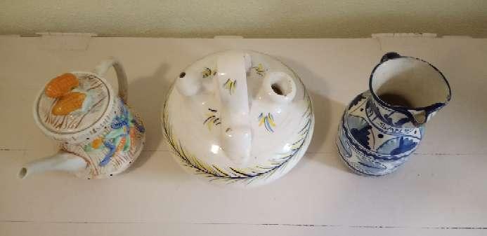 Imagen producto LOTE 3 piezas Cerámicas 2
