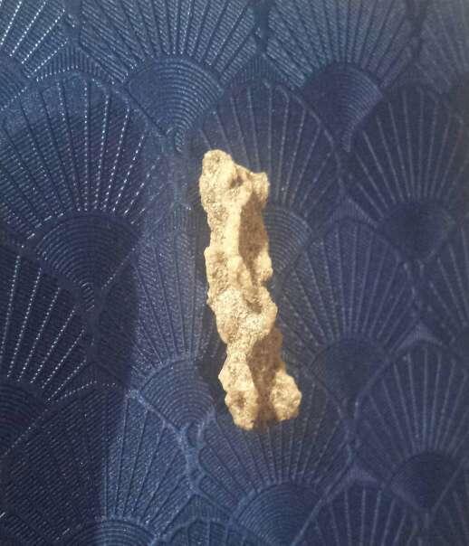 Imagen impacto de rayo N4 fulgurita