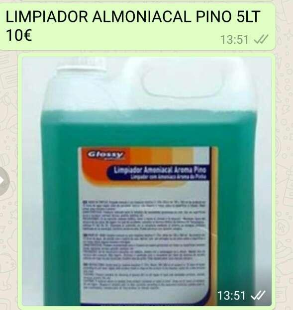 Imagen Limpidor almoniacal pino 5lt