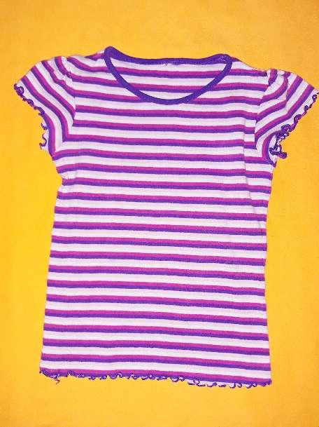 Imagen Camiseta rayas niña, 5 años.