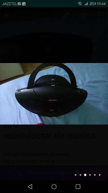 Imagen Reproductor música radio