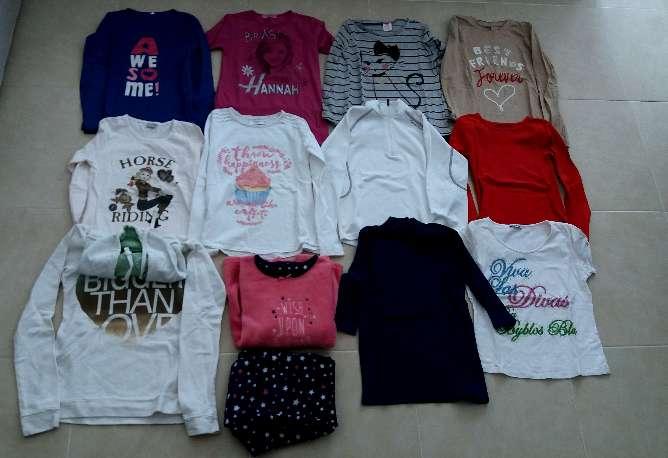 Imagen Lote ropa niña T 10/12 años en muy buen estado