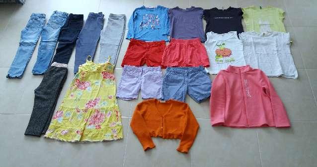 Imagen Lote ropa niña T 6/8 años
