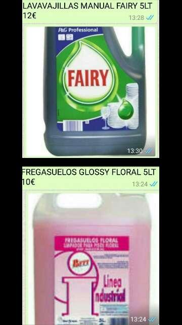 Imagen Fairy 5lt o FREGASUELOS 5lt