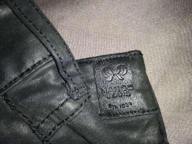 Imagen pantalón corto de cuero