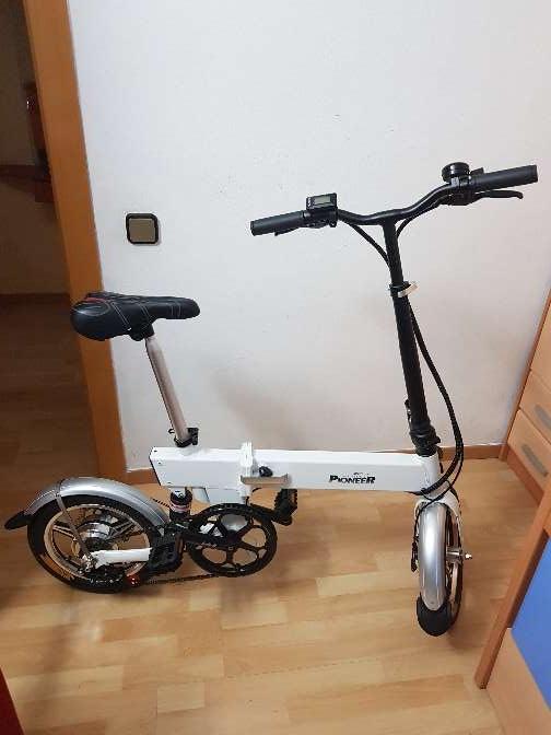 Imagen bicicleta eléctrica plegable