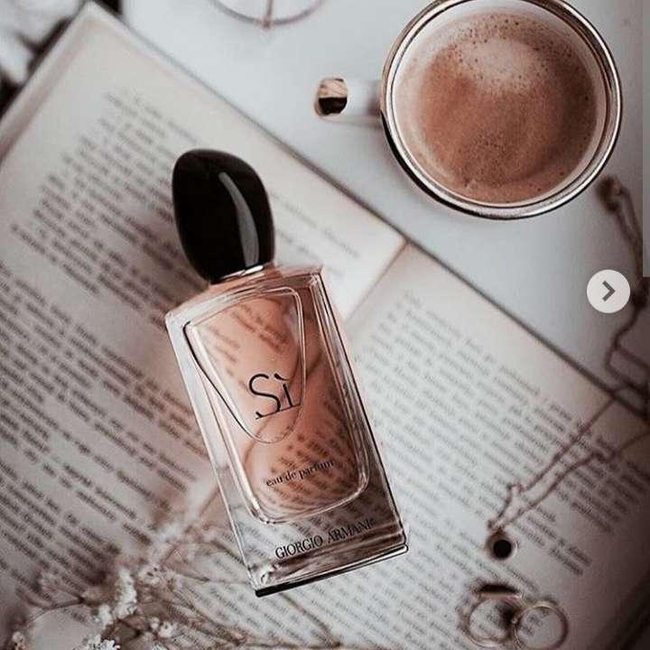 Imagen Perfume Si Armani