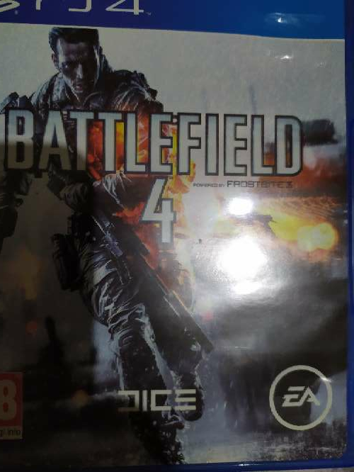 Imagen battlefield ps4(disponible)