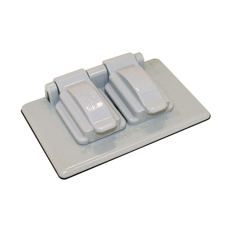 Imagen producto Tapa de plástico para intemperie dúplex FU0155 Fulgore. 3x49 1