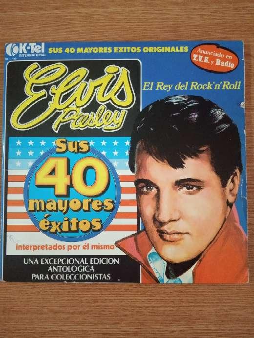 Imagen Elvis Presley Vinilo.