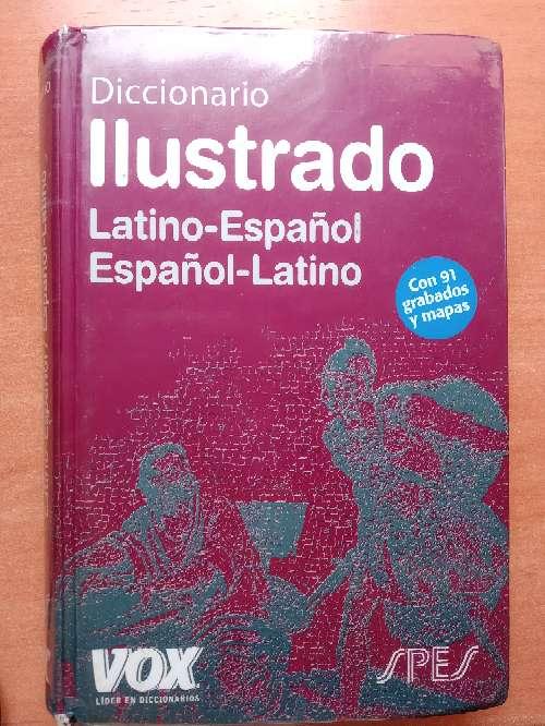 Imagen diccionario de latín